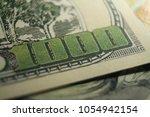 one thousand dollar bill close... | Shutterstock . vector #1054942154