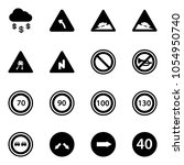 solid vector icon set   money... | Shutterstock .eps vector #1054950740