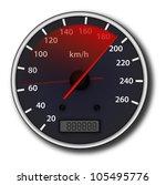 speedometer | Shutterstock . vector #105495776