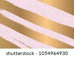 pink glitter texture.  abstract ... | Shutterstock .eps vector #1054964930