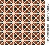 modern professional geometric... | Shutterstock .eps vector #1054972850
