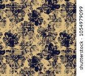 check background modern  floral ...   Shutterstock . vector #1054979099