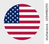 us flag in a mug | Shutterstock .eps vector #1054980293