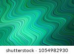 light green vector pattern with ... | Shutterstock .eps vector #1054982930