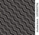 seamless zig zag geometric... | Shutterstock .eps vector #1055005796
