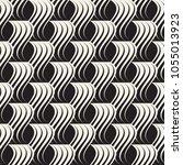 vector seamless pattern. modern ... | Shutterstock .eps vector #1055013923