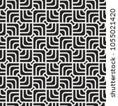 geometric vector seamless... | Shutterstock .eps vector #1055021420