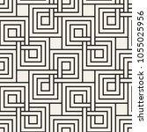 vector seamless pattern. modern ... | Shutterstock .eps vector #1055025956