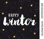 hand lettering . background...   Shutterstock .eps vector #1055033168