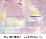 abstract painting background.... | Shutterstock . vector #1055043740