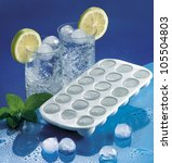 Plastic Ice Cube Tray And Cold...