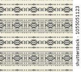 tribal  art pattern. ethnic... | Shutterstock .eps vector #1055051123