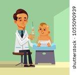profession medicine doctor... | Shutterstock .eps vector #1055090939