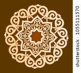 backgorund f round patterns | Shutterstock .eps vector #1055111570