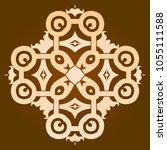 backgorund f round patterns | Shutterstock .eps vector #1055111588