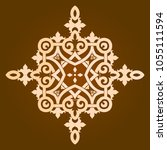 backgorund f round patterns | Shutterstock .eps vector #1055111594