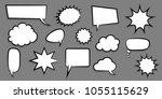 announces sketch idea... | Shutterstock .eps vector #1055115629