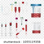 realistic medical supplies. for ... | Shutterstock .eps vector #1055119358