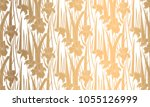 seamless pattern with irises.... | Shutterstock .eps vector #1055126999
