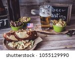 american craft beer | Shutterstock . vector #1055129990