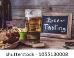 american craft beer | Shutterstock . vector #1055130008