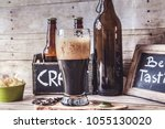 american craft beer | Shutterstock . vector #1055130020