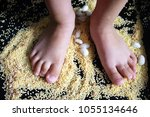 small motility of legs.... | Shutterstock . vector #1055134646
