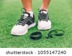 new technology sport wearable... | Shutterstock . vector #1055147240