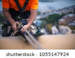 close up pic of male rope... | Shutterstock . vector #1055147924