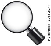 magnifying glass  eps 10... | Shutterstock .eps vector #105515249