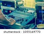 closeup hand prepare adjust the ... | Shutterstock . vector #1055169770