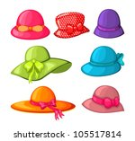 Collection Of Woman Hats