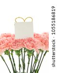 happy mother's day  carnations...   Shutterstock . vector #1055186819