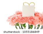 happy mother's day  carnations...   Shutterstock . vector #1055186849