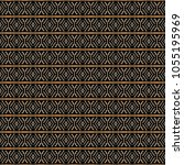 ethnic pattern in the style of... | Shutterstock . vector #1055195969