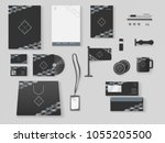corporate identity.... | Shutterstock .eps vector #1055205500