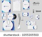corporate identity.... | Shutterstock .eps vector #1055205503