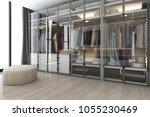 3d rendering modern... | Shutterstock . vector #1055230469