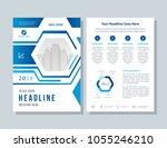 annual report  broshure  flyer  ...   Shutterstock .eps vector #1055246210