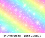 vector illustration of galaxy... | Shutterstock .eps vector #1055265833