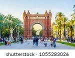barcelona  spain  october 24... | Shutterstock . vector #1055283026