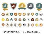 dollar coin icon | Shutterstock .eps vector #1055353013
