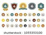 vector ship icon | Shutterstock .eps vector #1055353100