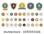 vector antenna icon | Shutterstock .eps vector #1055353106