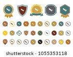 vector peas icon | Shutterstock .eps vector #1055353118