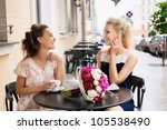 Two Beautiful Young Women With...