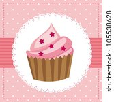 Pink Birthday Card With Cup...