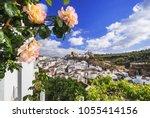 setenil de las bodegas village  ... | Shutterstock . vector #1055414156