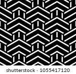 abstract geometric pattern with ... | Shutterstock .eps vector #1055417120