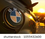 durban  south africa   bmw logo ... | Shutterstock . vector #1055432600
